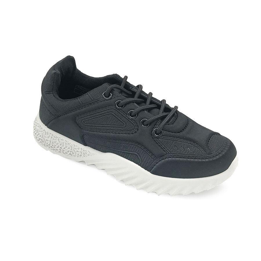 XES Ladies BSLCEV31 Comfort Sneakers (Pink Black)