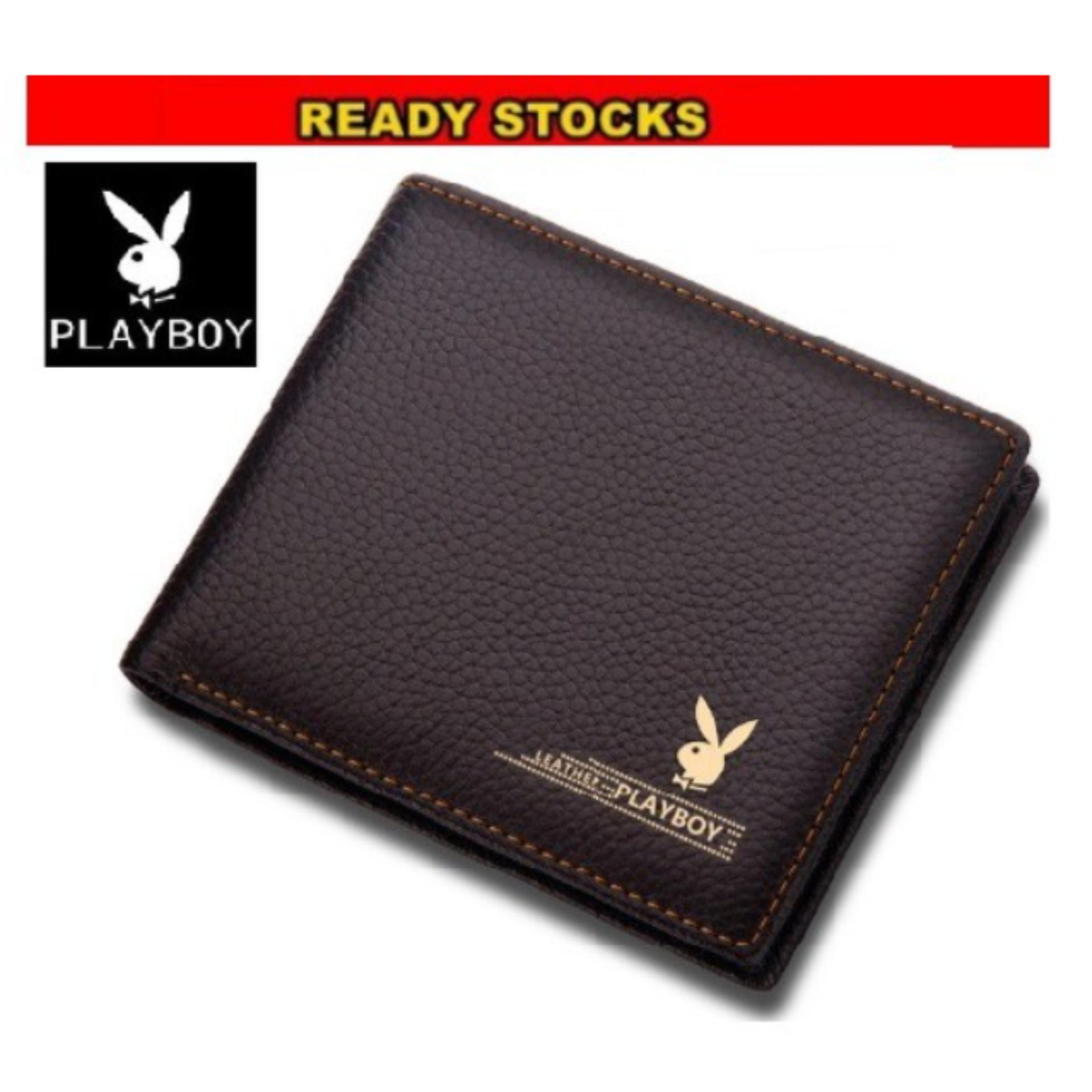 PB Famous Men Casual Leather Short Wallet Wallets