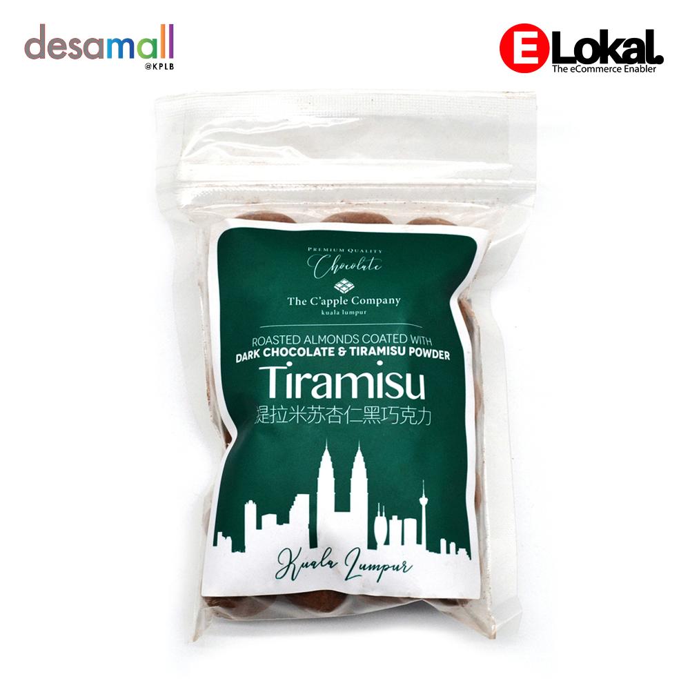 C\'APPLE Dark Chocolate - Tiramisu Almond (250g)
