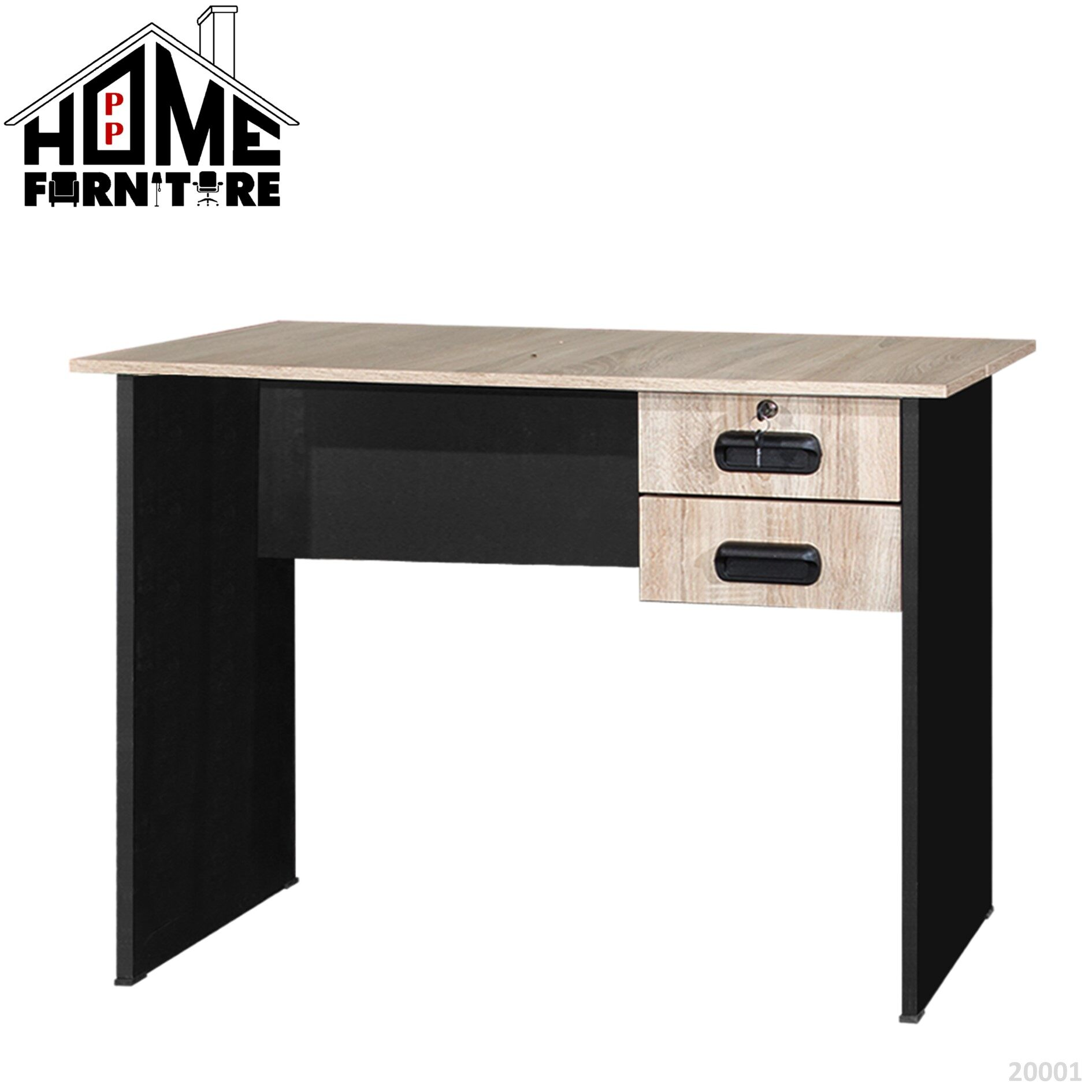 PP HOME Study Table with drawer/Writing table/Working table /PC table/ Student table/Home office table/Multipurpose table/Desk/Computer table/Destop/laptop/Meja belajar/Meja tulis/Meja kerja/komputer电脑桌/书桌/工作桌/读书桌/办公桌20002