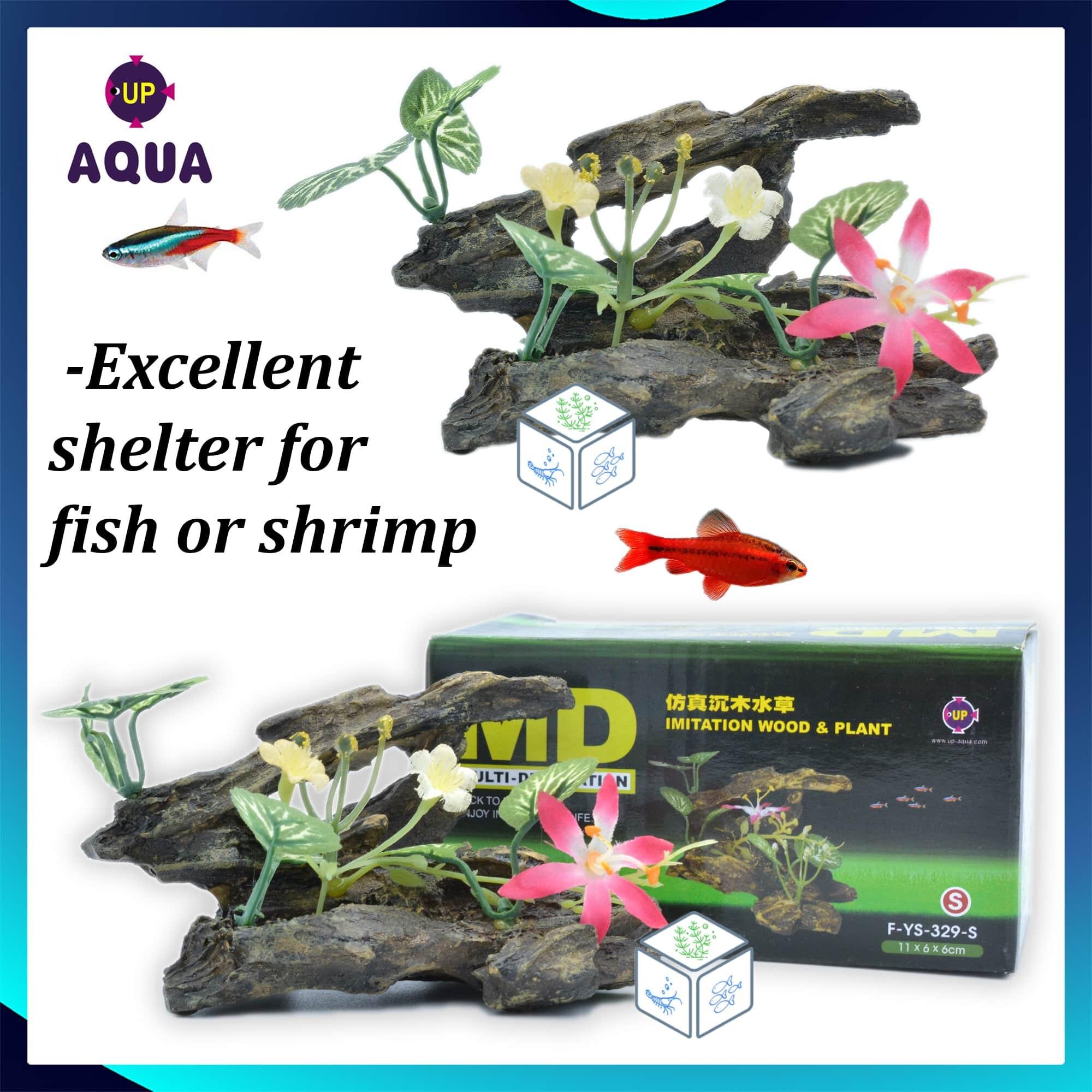 Aquarium Decoration Wood Plant Imitation FYS329-S