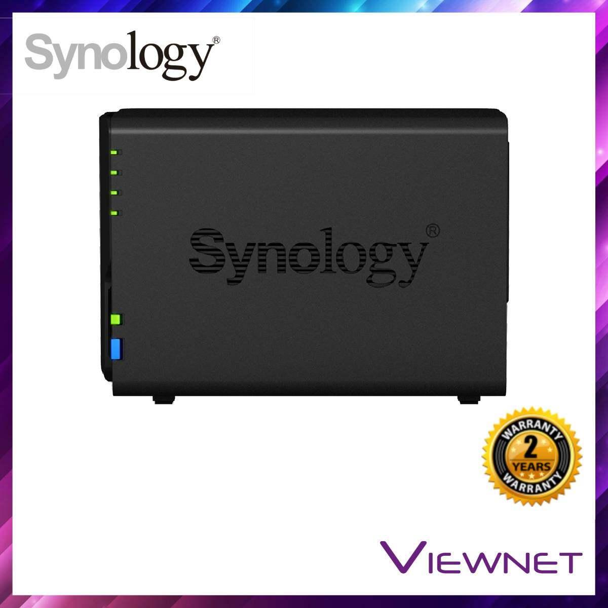 Synology Enclosure 2-BAYS/Intel Celeron J3355/DC 2.0GHz/2GB NAS (DS218+)