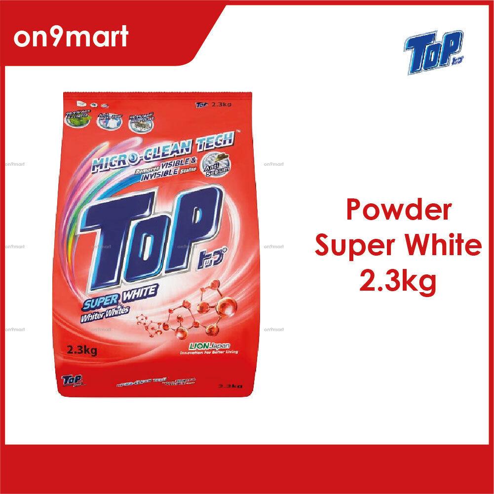 TOP Powder Laundry Detergent - Super White 2.3kg