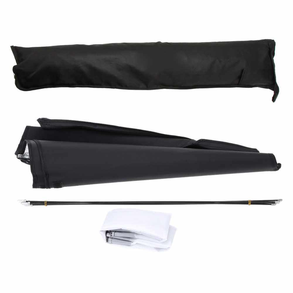 "Portable 50 * 70cm / 20"" * 28"" Umbrella Softbox Reflector for Speedlight (Standard)"