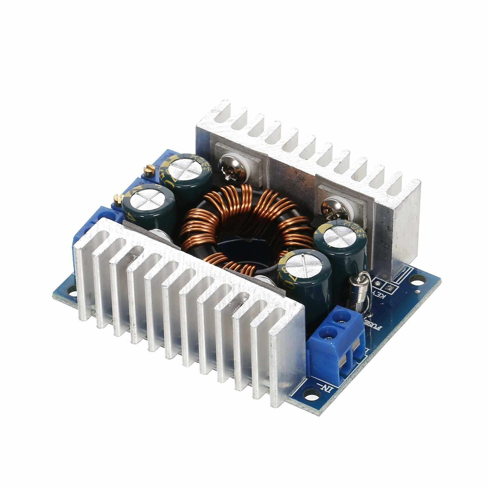 People's Choice DC-DC 5V-30V to 1.25-30V 8A Constant Voltage Current Automatic Step-up/Step-Down Regulator Charging Module Boost Converter Module Adjustable Power (Standard)