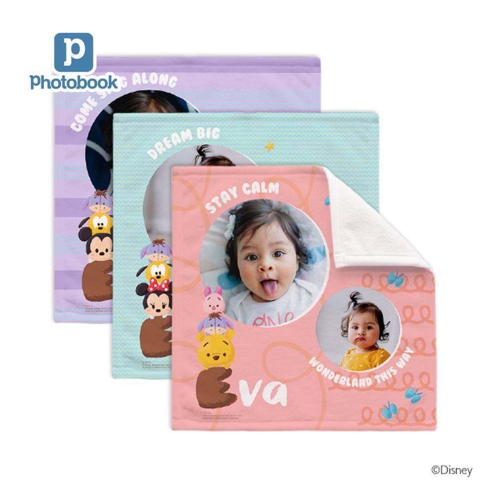 LazChoice [e-Voucher] Photobok Personalised Disney Tsum Tsum 10inch Baby Hand Towel