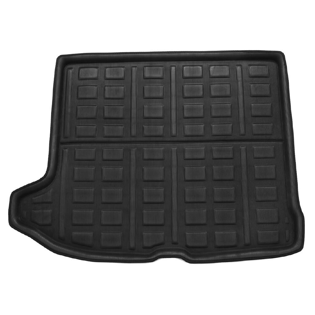 Floor Mats - Shockproof Rear Trunk Cargo Boot Liner Tray Floor Mat For Volvo XC60 2 MK2 + - Car Accessories