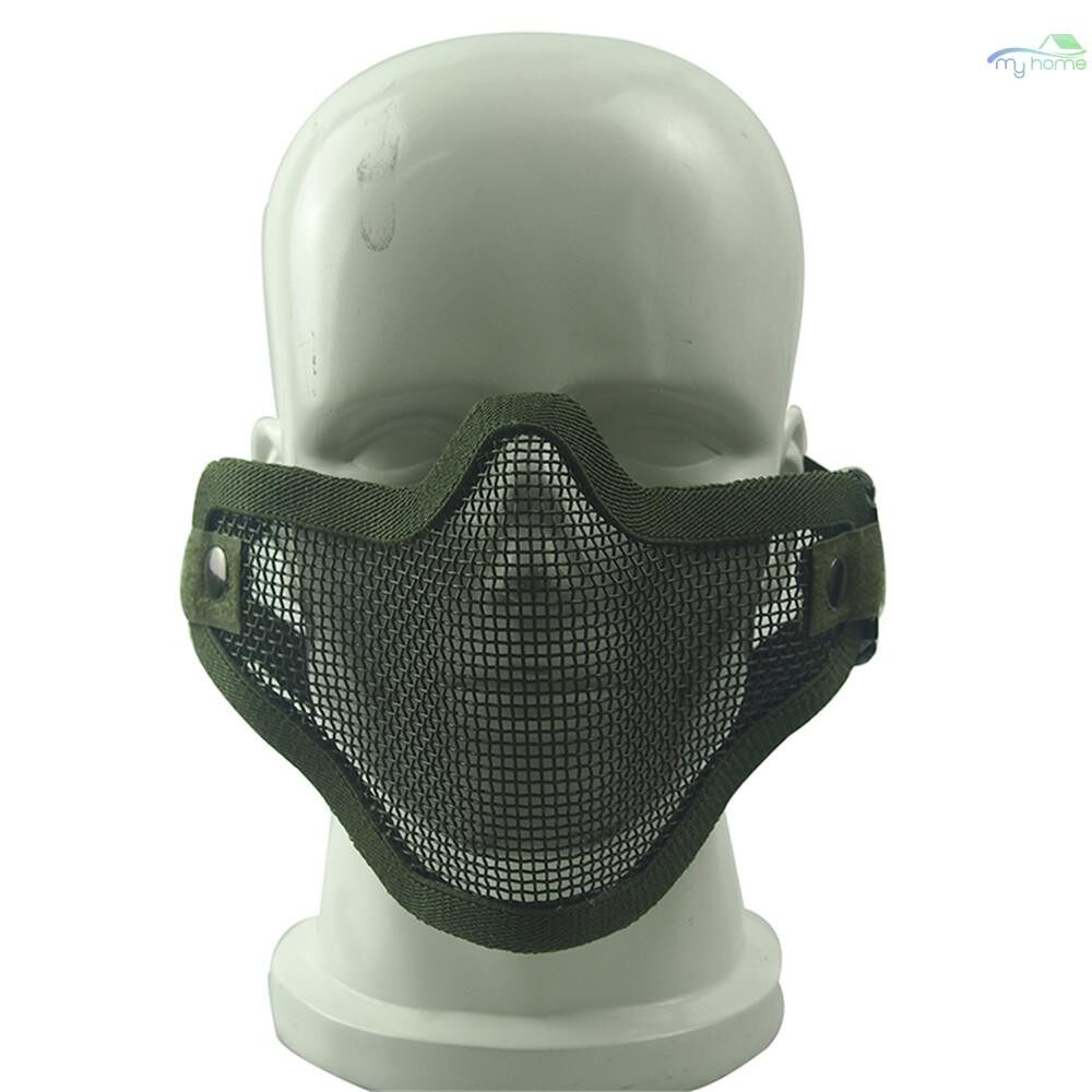 Protective Clothing & Equipment - ZL-V1 Outdoor Mask Impact-resistance 700FPS Carbon Steel Mask for Outdoor CS Paintball Match - KHAKI SKULL / ARMY GREEN SKULL / BLACK SKULL / ARMY GREEN / KHAKI / BLACK
