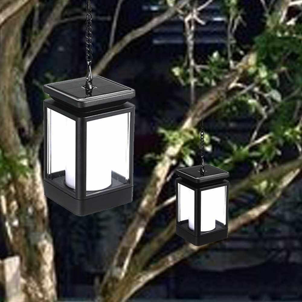 Three Model Portable Decoration Energy Saving Solar Panel Lawn Light For Outdoor Garden (Black)