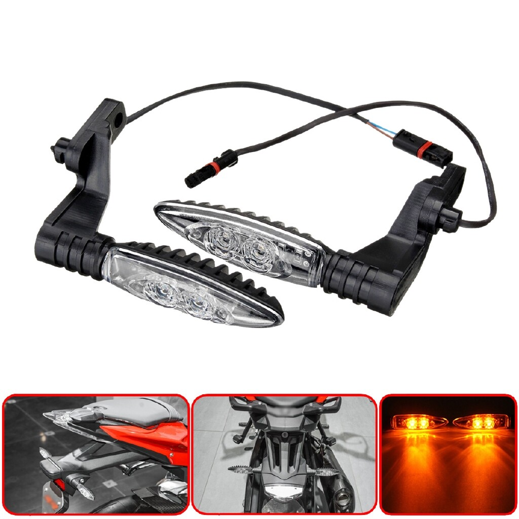 Moto Accessories - Motorcycle Rear LED Turn Signal Indicator Light For BMW S1000RR R1200GS F800GS - Motorcycles, Parts