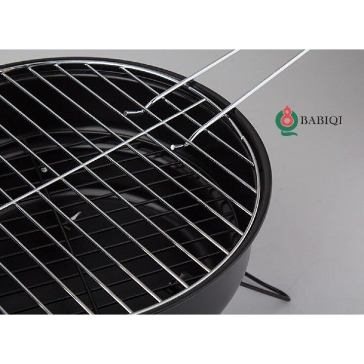 BBQ Small Travel Portable Charcoal Barbeque Mini Grill for Camping or Outdoor Cooking
