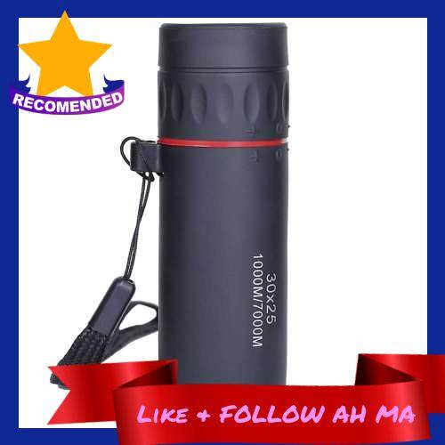 Best Selling 30x25 Mini Portable HD Optical Monocular (Black)