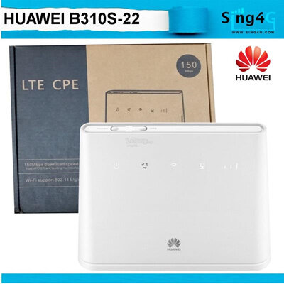 Modified Unlimited Hotspot Huawei B310 4G LTE to WIFI Router