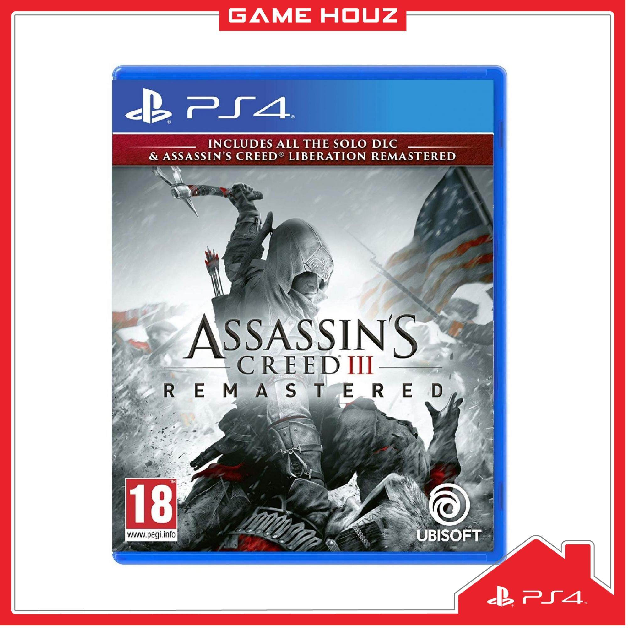 (PS4) Assassin\'s Creed III: Remastered (R3/ENG/CHN)