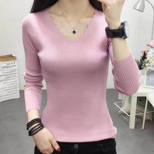 JYS Fashion Korean Style Women Knit Top Collection 526-8008