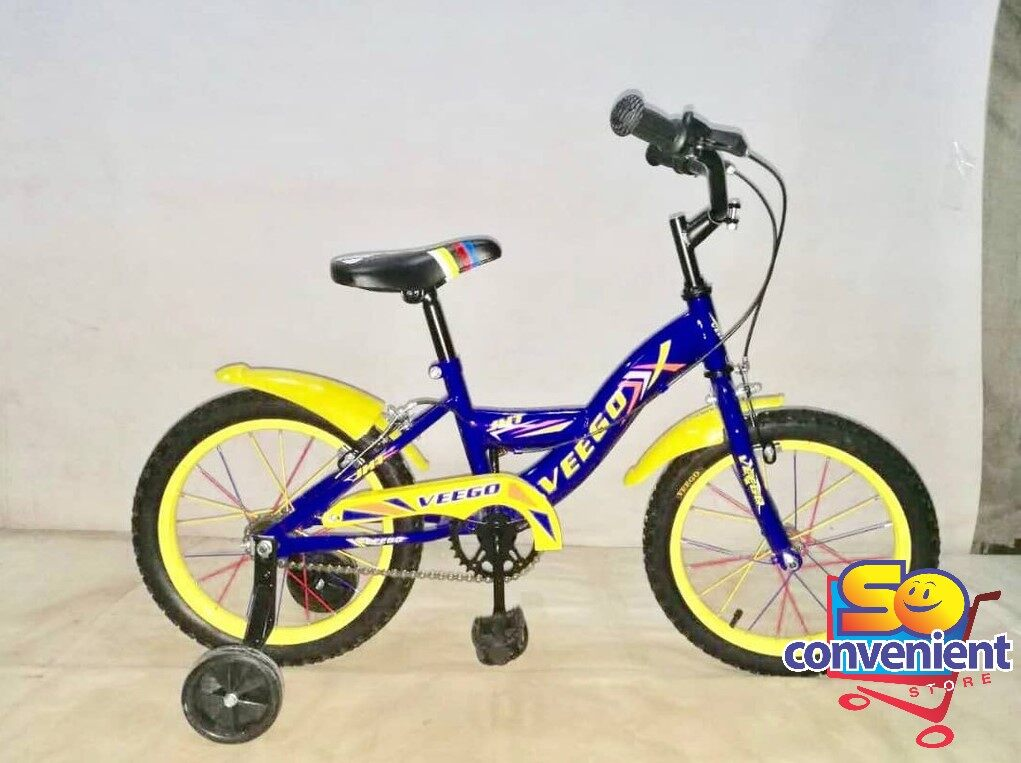 16  Veego Kids Bicycle 1642-A with Colour Spoke