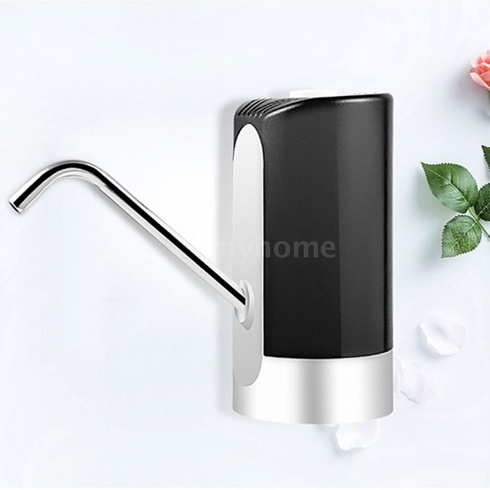 Small Kitchen Appliances - PORTABLE Automatic USB Charging Electric Water Pump Dispenser Gallon Drinking Bottle Auto Switch - BLACK / WHITE