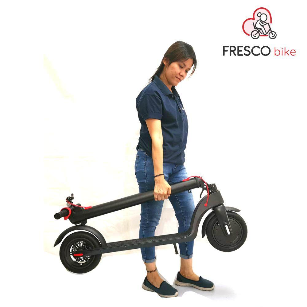 Fresco Folding Electric Scooter FX7 Foldable Electric Scooter with Free Seat