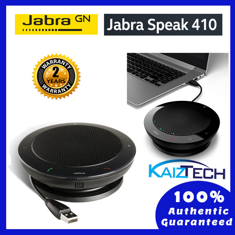 Jabra Speak 410 MS Entry-level portable USB conference speakerphone (2 Years Warranty)