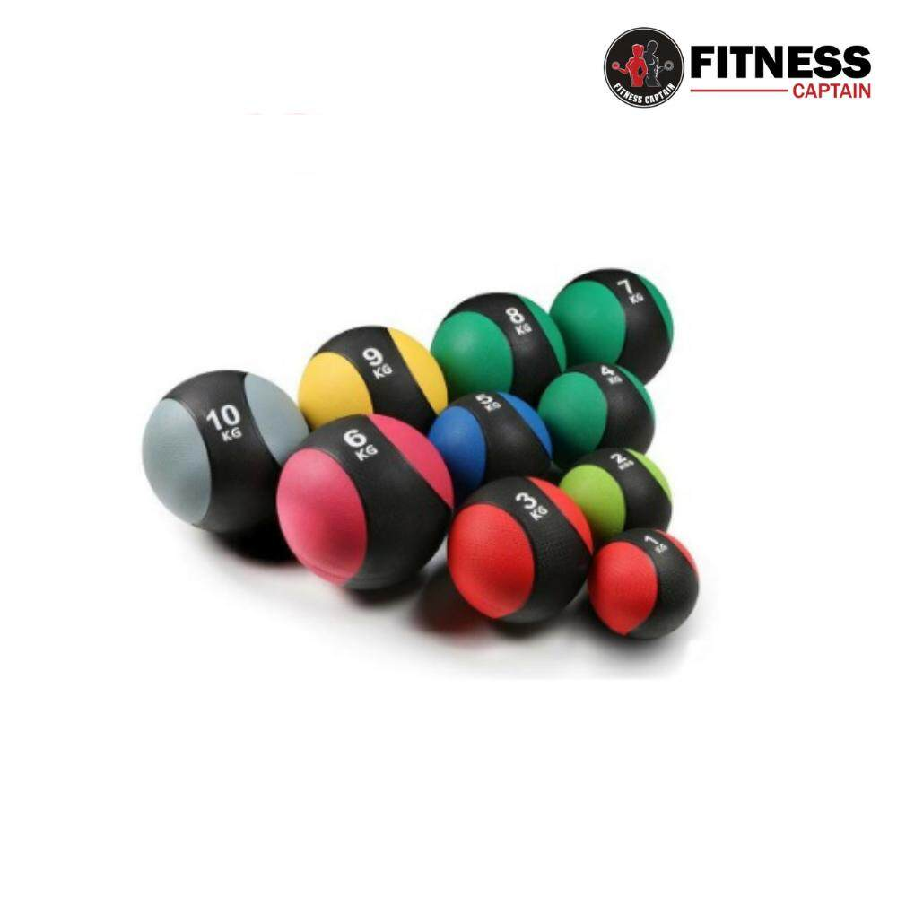 Fitness Gym Medicine Ball Rubber Muscle Balls Arm Exercise 1KG