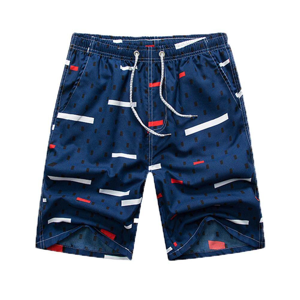 Men Summer Quick-drying Printing Shorts for Surfing Beach Wear
