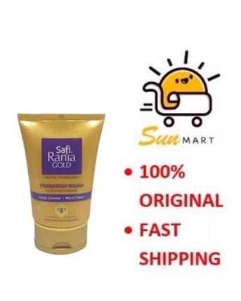 SAFI RANIA GOLD FACIAL CREAM CLEANSER (50G)