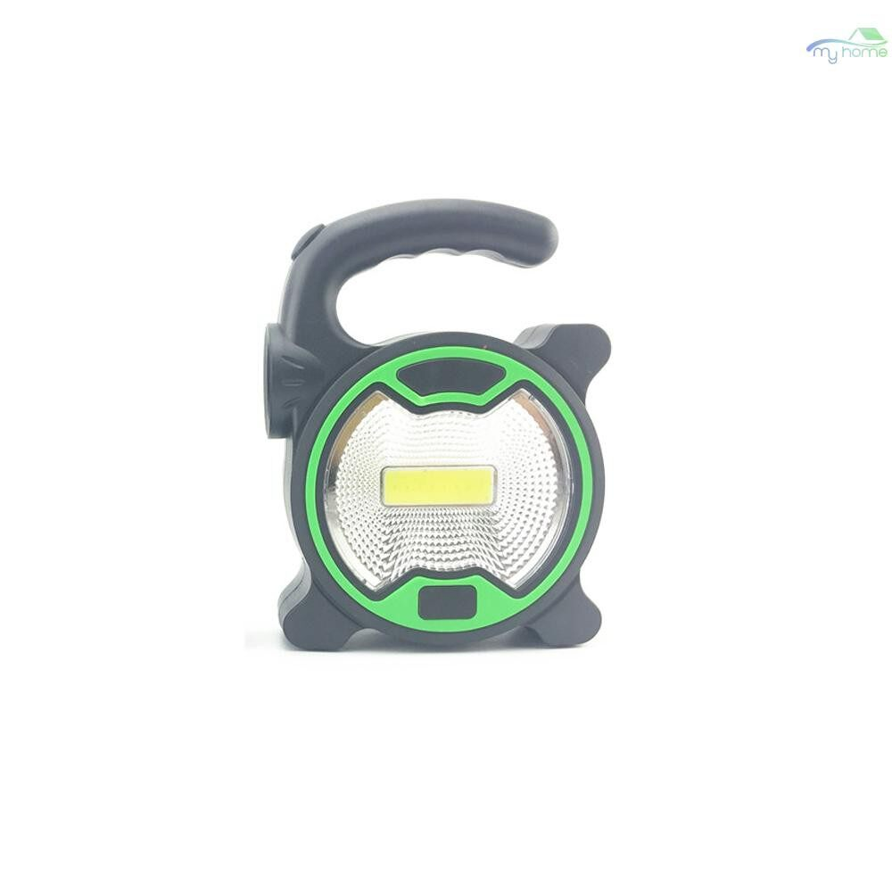 Lighting Fixtures & Components - Solar PORTABLE Cell Using Emergency Searchlight LED Camping Light Outdoor Work Spot Lamp - GREEN S / YELLOW S / YELLOW