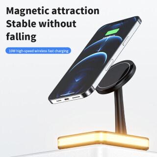 HOCE Đế Sạc Không Dây Từ Tính Cho iPhone 12 13 Promax Airpods PD QC3.0 Đế Sạc Nhanh USB Trạm Sạc thumbnail