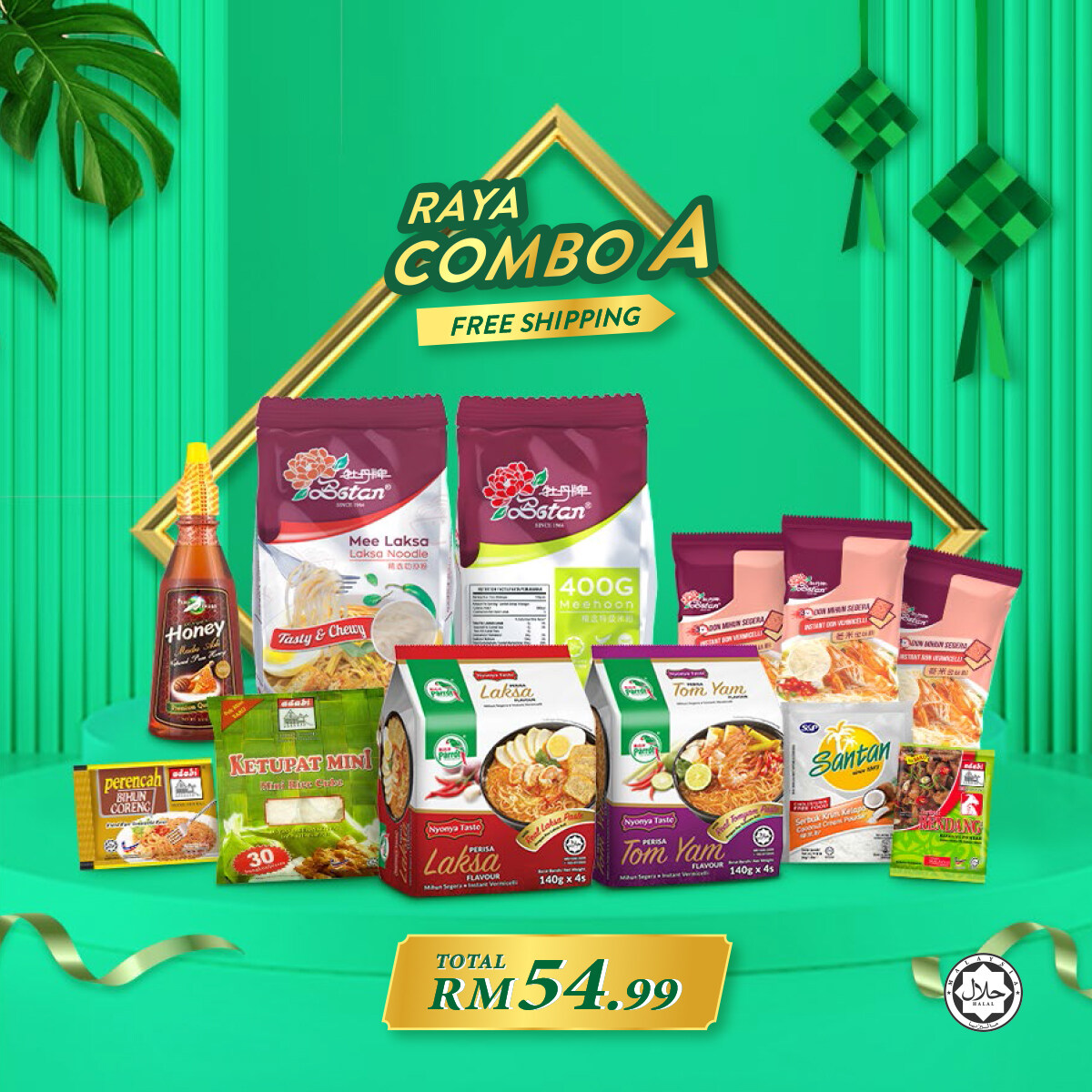 [Shipping Subsidized] Raya Combo A, Set Bihun Special Pack
