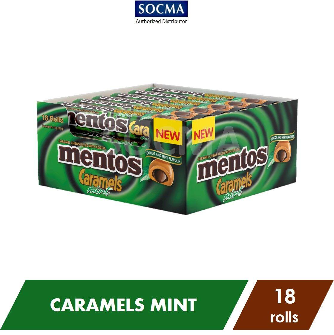 Mentos Caramel Mint 37G [18]