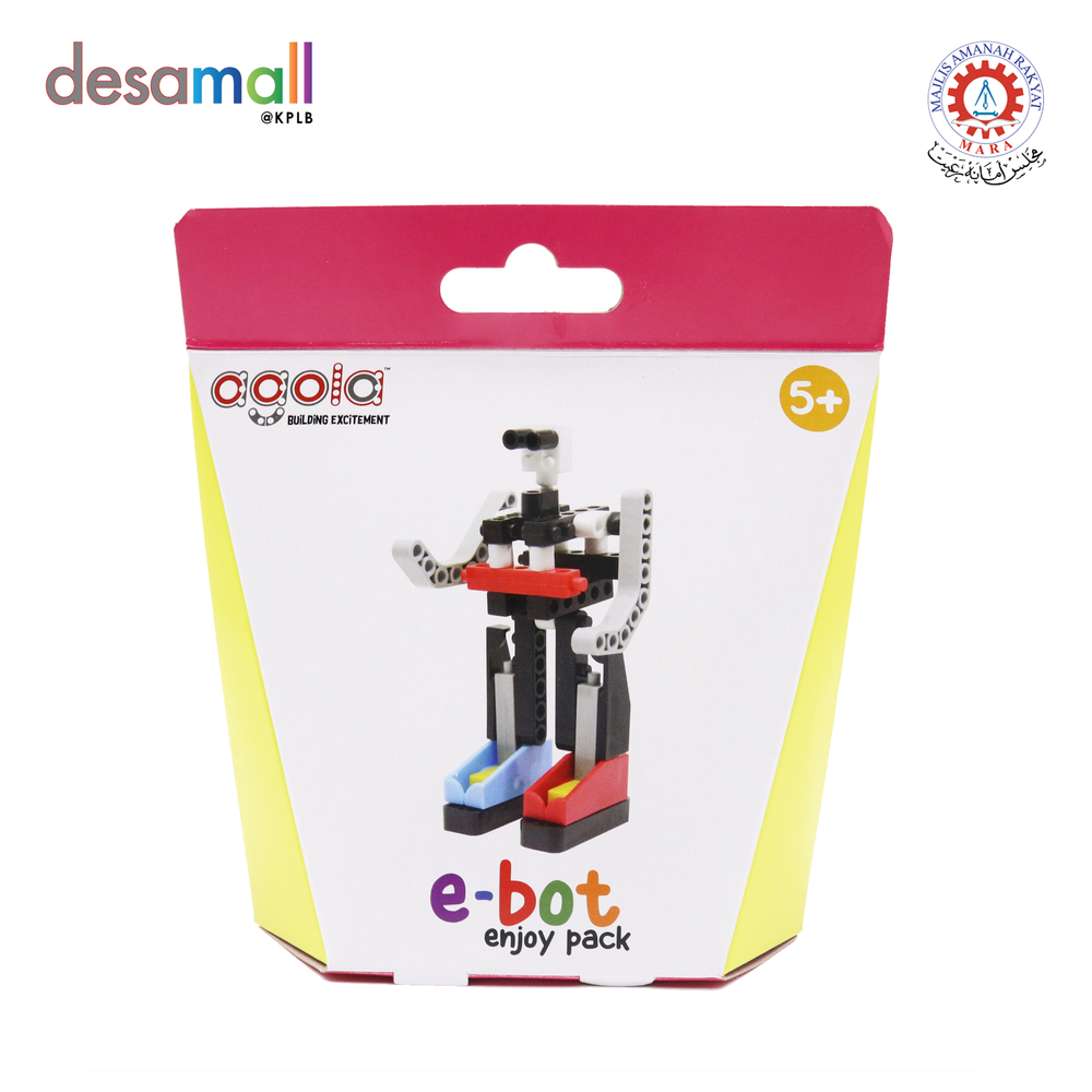 AGOLA Educational Building Block Toys E-Bot Enjoy Pack
