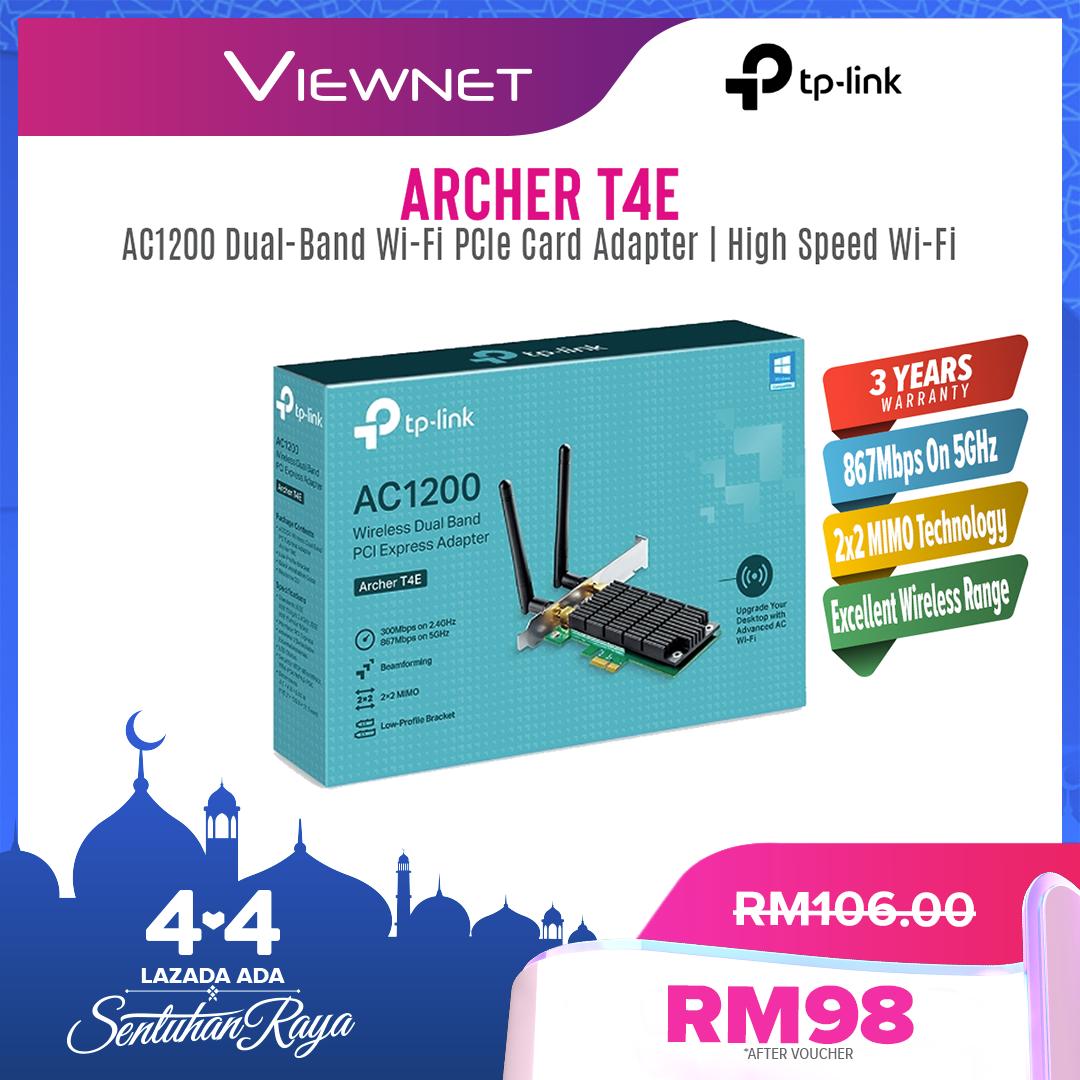Tp-Link AC1200 Wifi Adapter (Archer T4E)