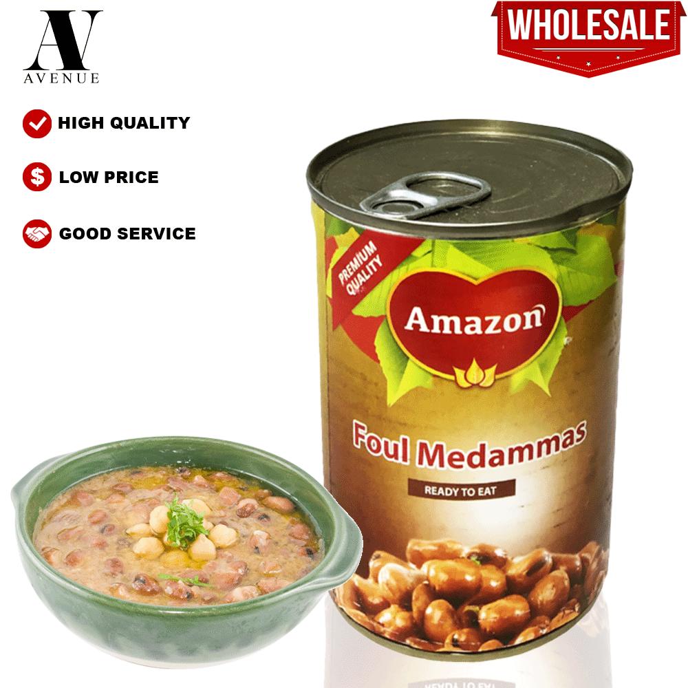 Amazon Foul Medames Egyptian Recipe 400g ( Fava Beans ) ready to eat فول مدمس الخلطة المصرية
