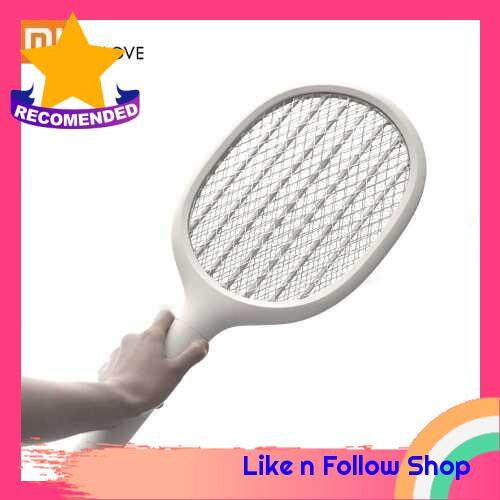 Xiaomi EcoChain Solove P1 Electric Mosquito Home Electric Fly Mosquito Swatter Mosquito Killer Bug Racket Insects Killer USB Charging (Grey)