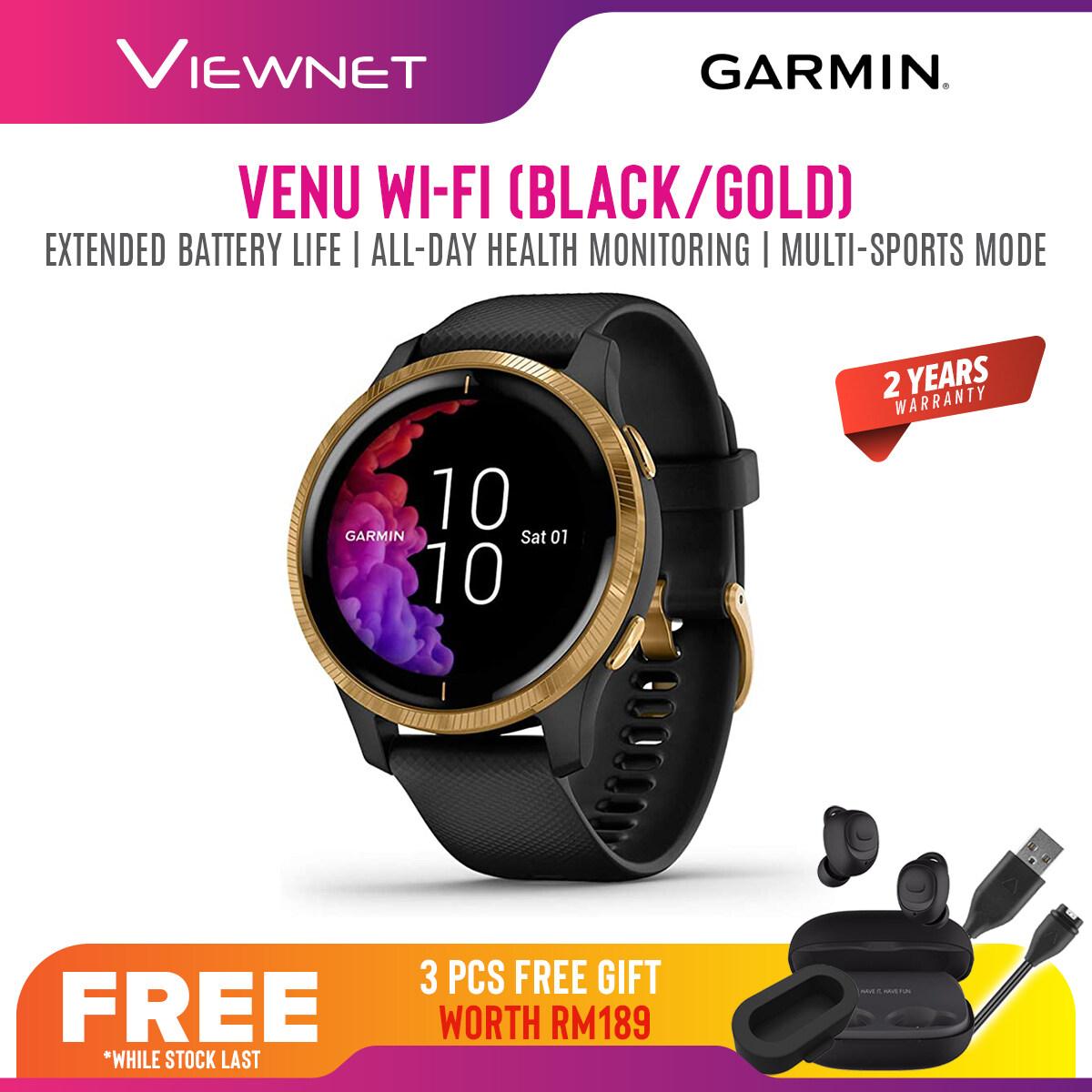 (NEW 2019) Garmin Venu GPS Smartwatch Fitness Watch with AMOLED Display