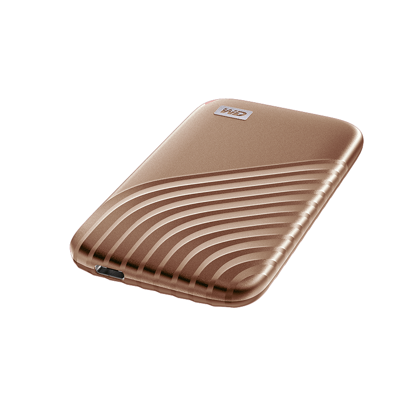 WD Western Digital My Passport SSD 500GB / 1TB Portable External SSD with USB 3.2 Gen 2, Password Protection, Simple Back Up, Shock Resistant
