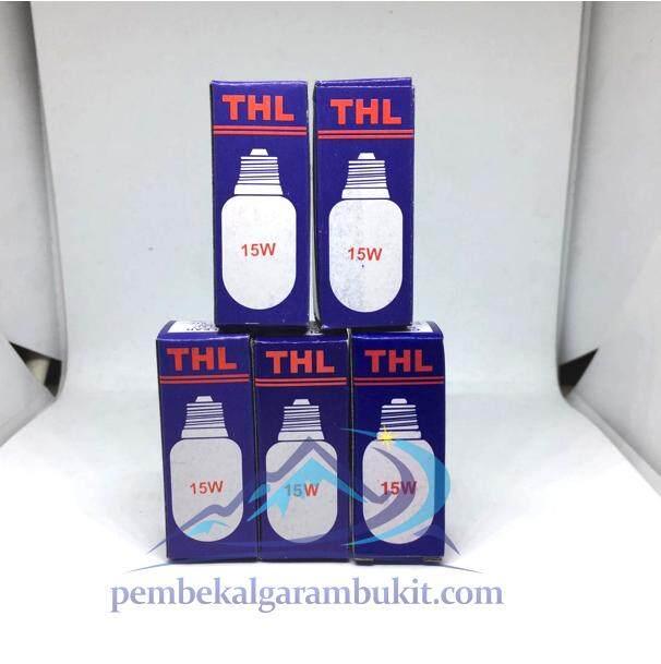 5 pcs Mentol lampu garam Bukit 15watt 5 pcs bulb himalayan salt lamp