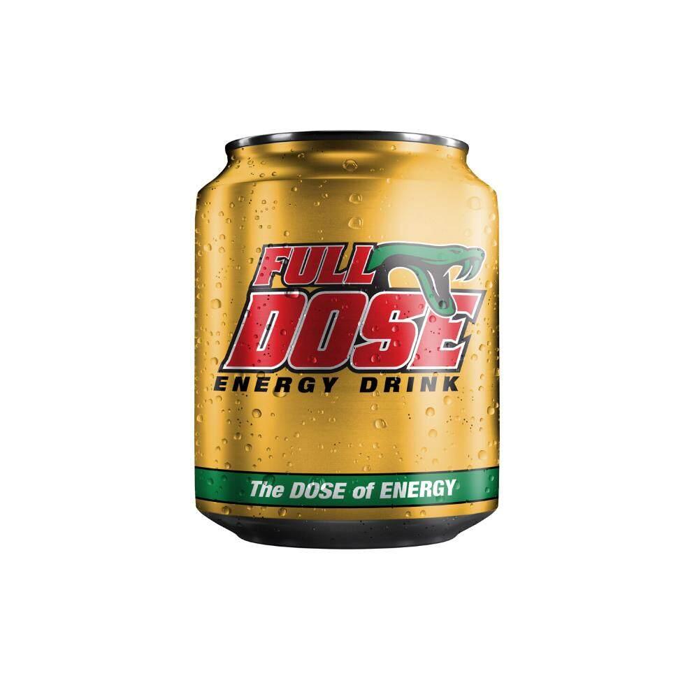FULL DOSE ENERGY DRINK 250 ML X 6 PCS