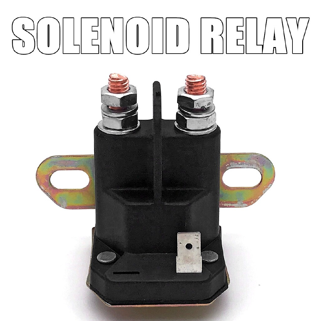 Car Replacement Parts - 12V Solenoid Relay Switch For Trombetta 812-1211-211 9326519 932651WR 93265WR - Automotive