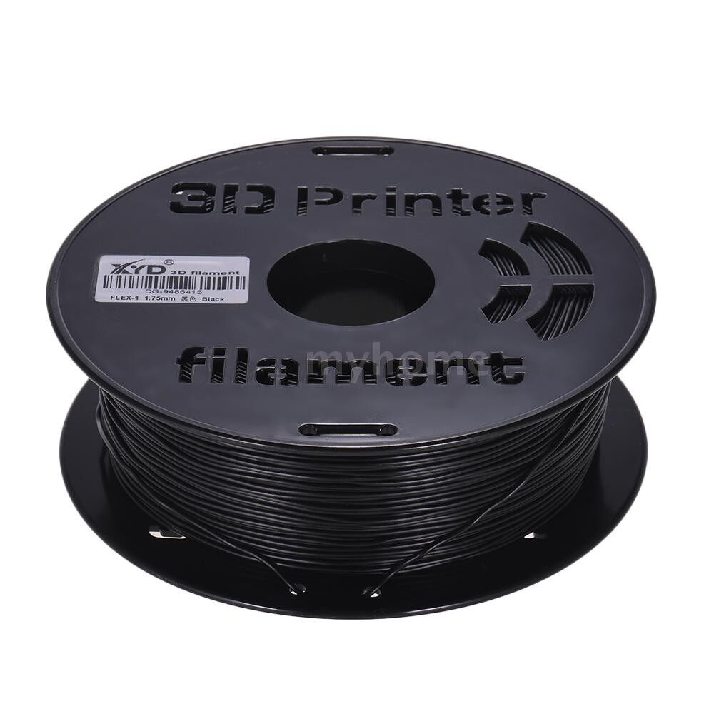 Printers & Projectors - 1KG/ Spool 1.75mm Flexible TPU Filament Printing Material Supplies White, Black, Transparent for 3D - YELLOW / Apple GREEN / RED / LIGHT BLUE / TRANSPARENT / BLACK / WHITE