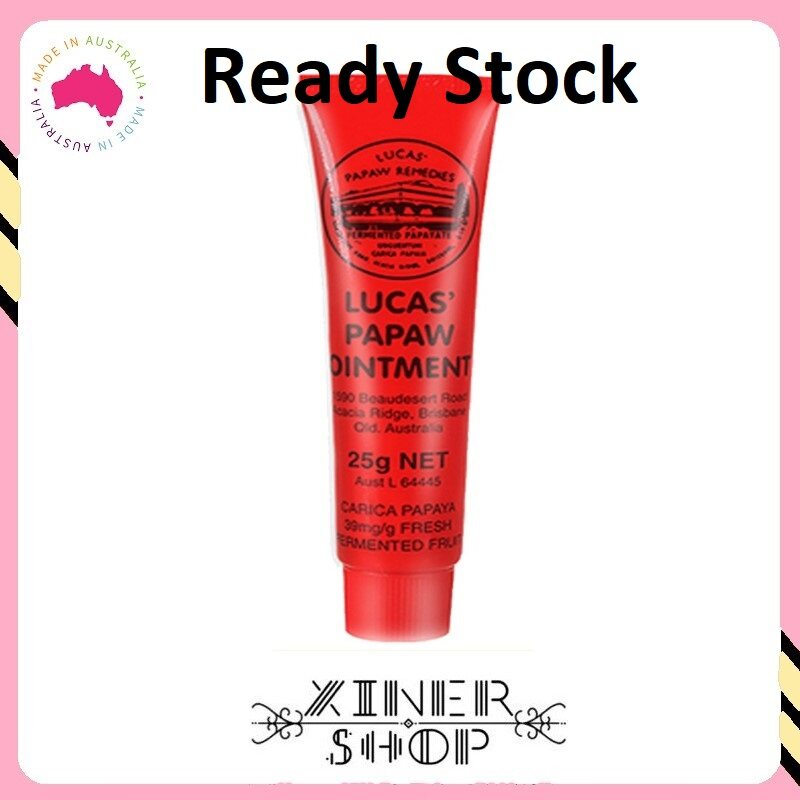 [Ready Stock] Lucas Papaw Ointment 25g (Made InAustralia)