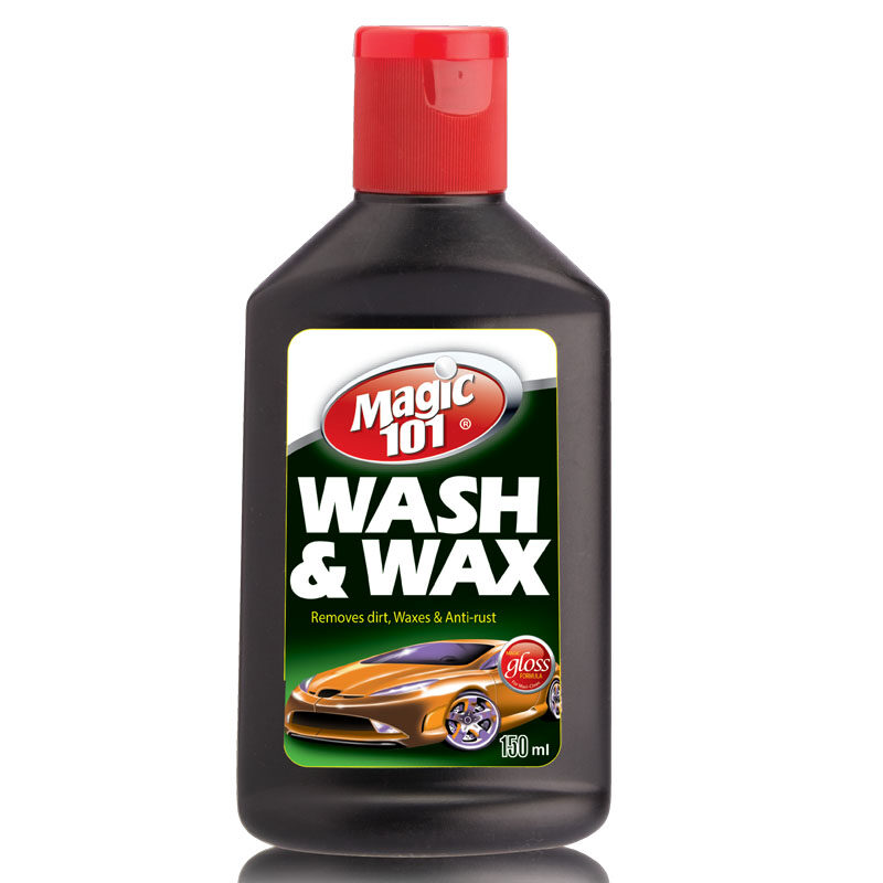 Magic101 Car Wash and Wax 150ml (Special offer, limited time & while stock lasts)