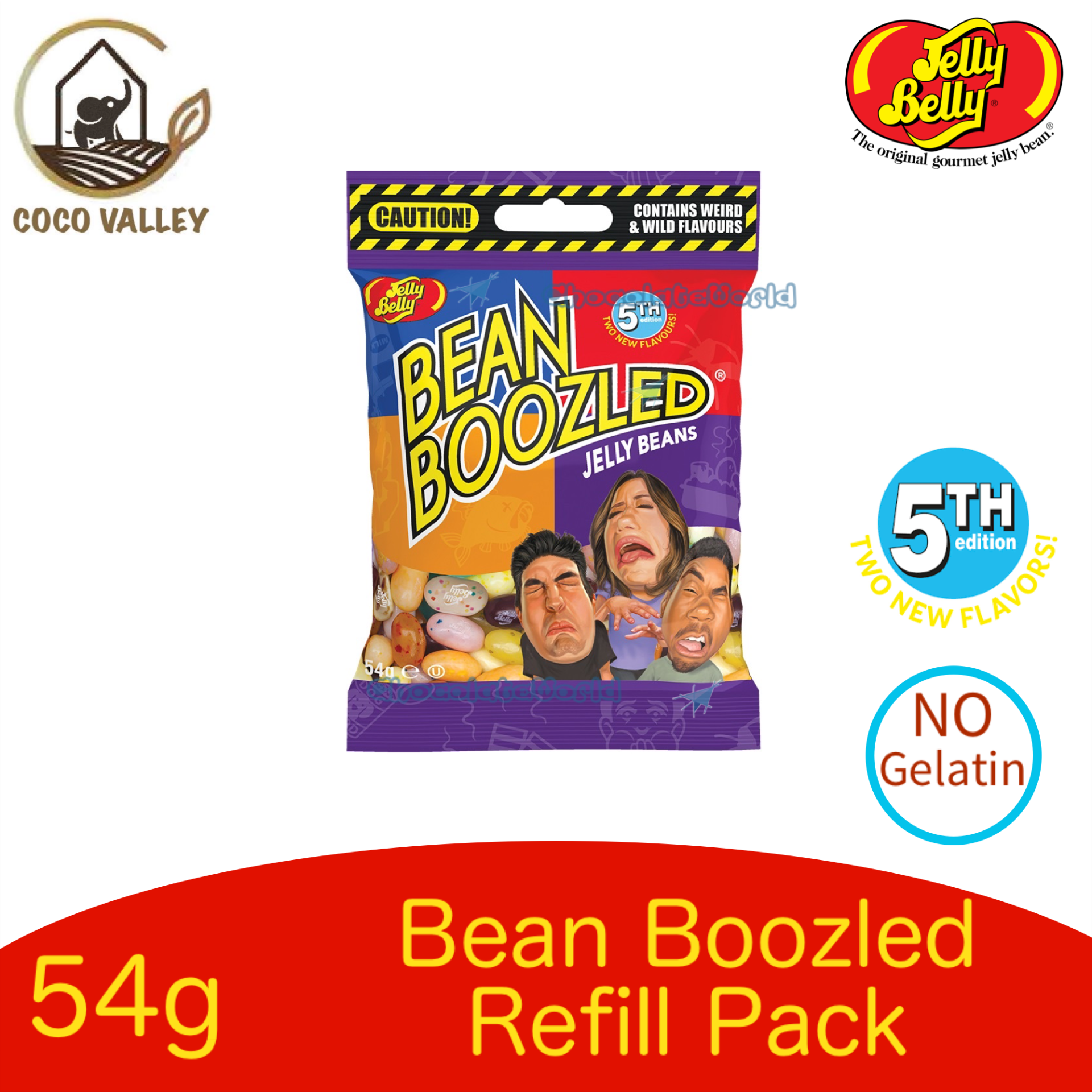 Jelly Belly 5th Edition Bean Boozled Jelly Beans 54g
