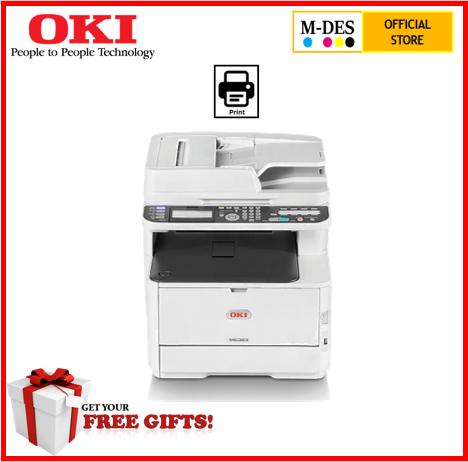 OKI MC363DN A4 Duplex Network All In 1 Colour Laser Printer