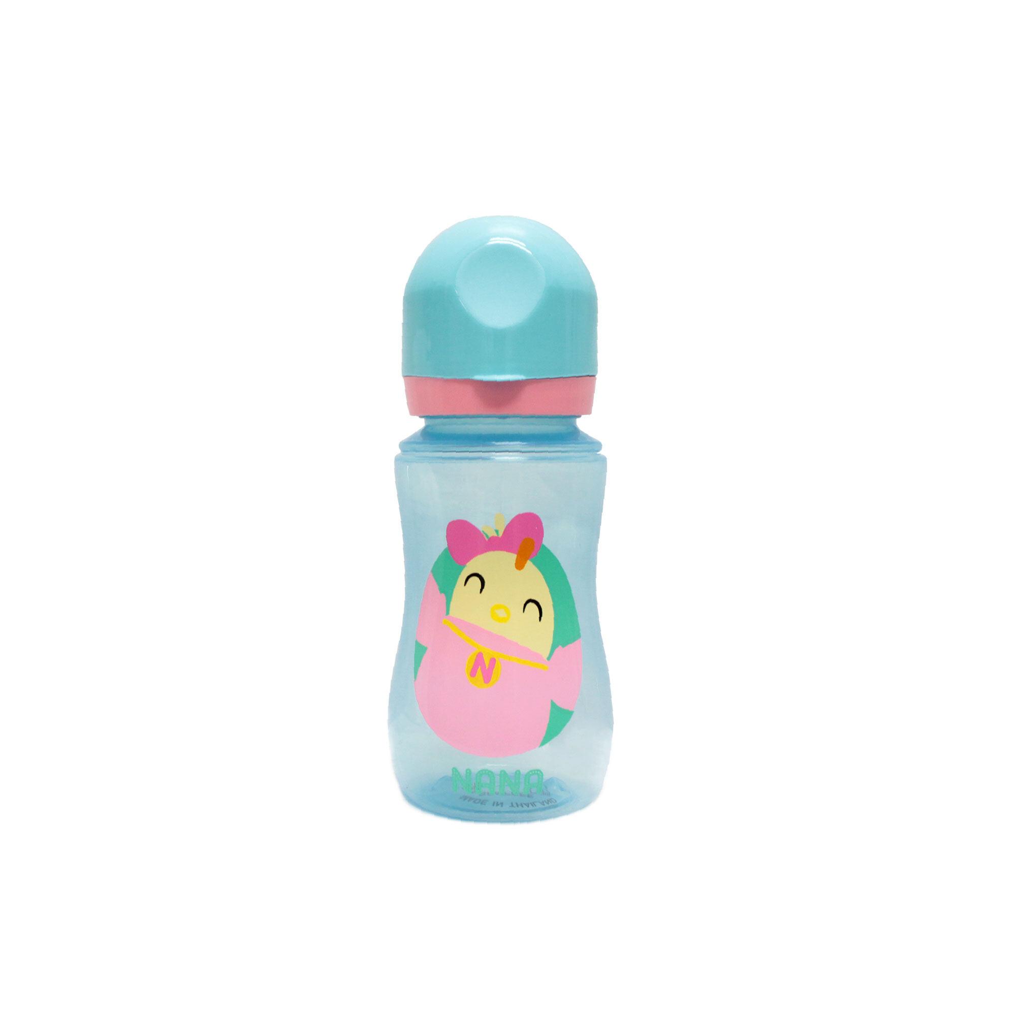 Didi & Friends 12OZ Wide Neck BPA Free Bottle Nana - Blue Colour