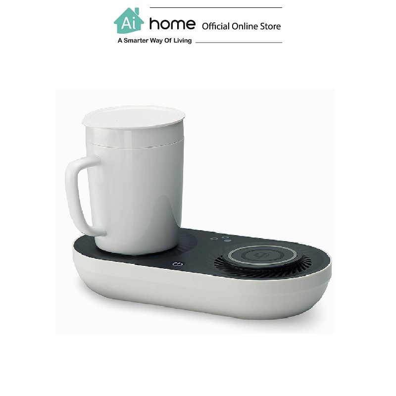 NATHOME Desktop Smart Cooler & Warmer Cup with Wireless Charger Version with 1 Year Malaysia Warranty [ Ai Home ]