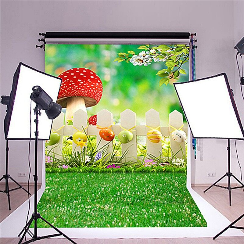 Lighting and Studio Equipment - 100x150cm PP Baby Backdrop Photo Photography Background Korean MINI Cabin- Camera Accessories