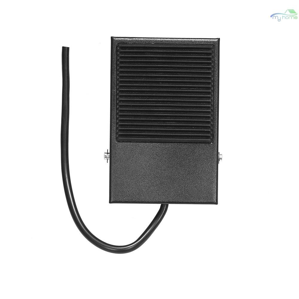 Sensors & Alarms - Heavy Duty Metal Skidproof Foot Pedal Switch Treadle Foot Switch Momentary Control 3 Wire NO/NC - BLACK