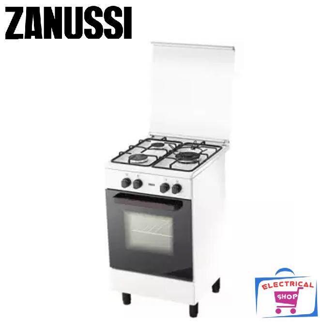 Zanussi ZCG530W 3Burners Freestanding Gas Cooker  (White)