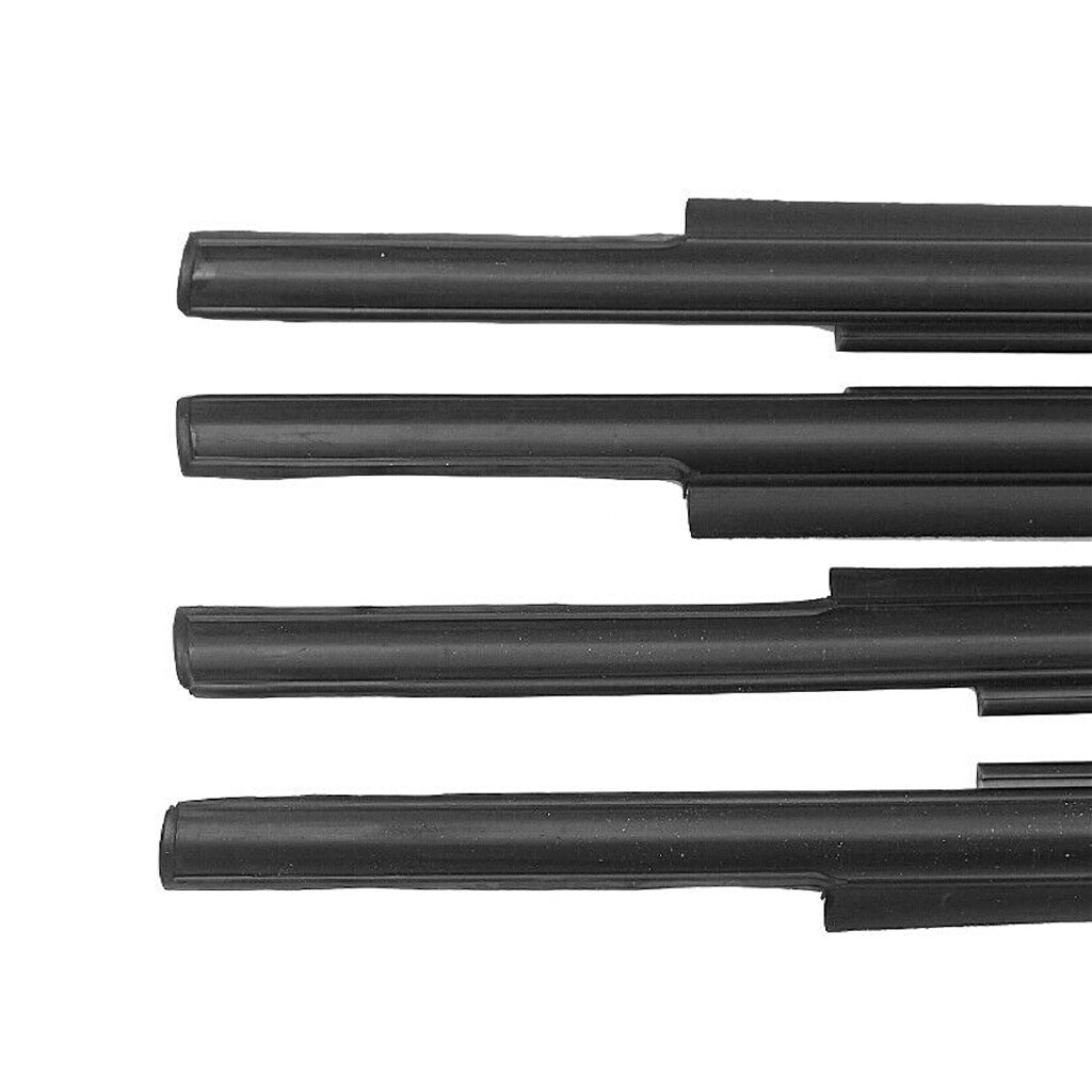 Car Lights - 4 PIECE(s) Car Window Moulding Weatherstrip Seal Belt For Toyota Tundra CrewMax 17-18 - Replacement Parts